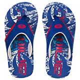 "ANIMAL ""JEKYL LOGO BOYS"" FLIP FLOPS. TOTAL ECLIPSE NAVY. UK CHILD 10-UK 6"