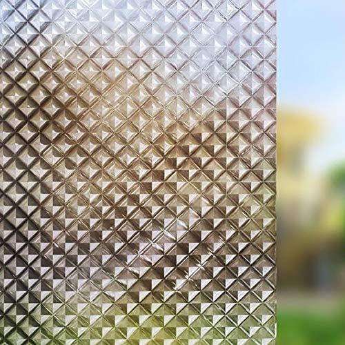 Datenschutz-fenster-folie,ohneklebstoff Reflektierende Wärmeregulierung Anti Uv Statische Cling Glasaufkleber Für Küche Schlafzimmer Und Büro-a 90x100cm(35x39inch)