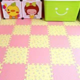 La Plataforma de correo 60x60 empalme con paquetes de espuma Eva bebé gateando por los rompecabezas alfombra Tuba denso