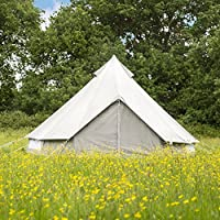 tenty.co.uk Boutique Camping The Oxford Canvas Bell Tent 5m
