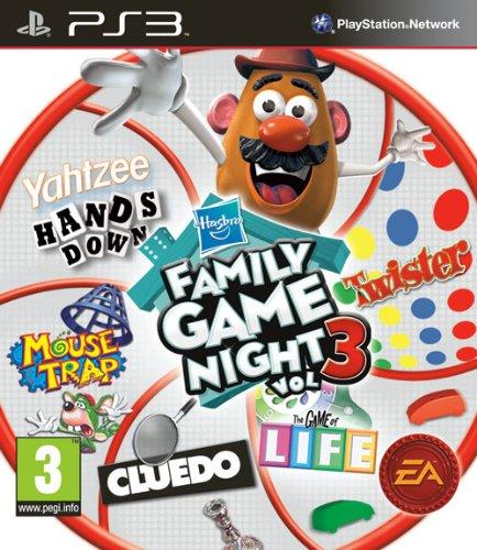 Hasbro Family Game Night 3 (Sony PS3) [Import UK] (3 Family Night Game)