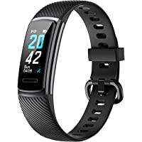 Delvfire Arcturus Fitness Tracker, Heart Rate, Waterproof, Step Counter, Sleep Monitor, Calorie Counter, Alarms, Multi…