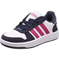 adidas Hoops 2.0, Chaussures de Basketball Mixte Enfant