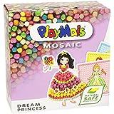PlayMais - Mosaic dream Princess, 2300 piezas, juego de manualidades (Loick Biowertstoff GmbH 22AH160178)
