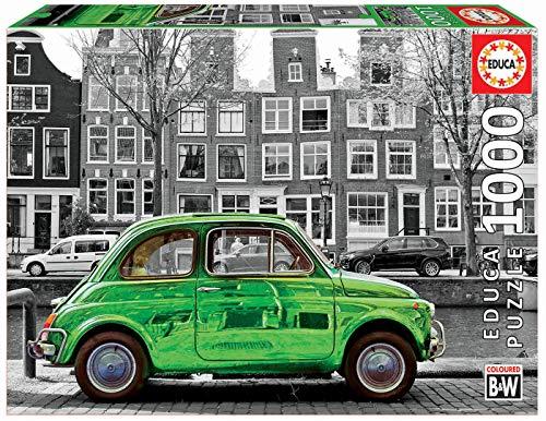 Educa Borras - Auto in Amasterdam Puzzle, 1000 Teile (18000)