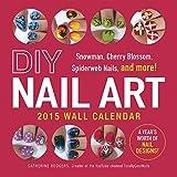 DIY Nail Art 2015 Wall Calendar: Snowman, Cherry Blossom, Spiderweb Nails, and More!