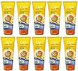 10 x 100 ml CIEN sun Sonnencreme Sonnenmilch für Kinder LSF 50+ Sehr Hoch Wasserfest MHD 8/2019