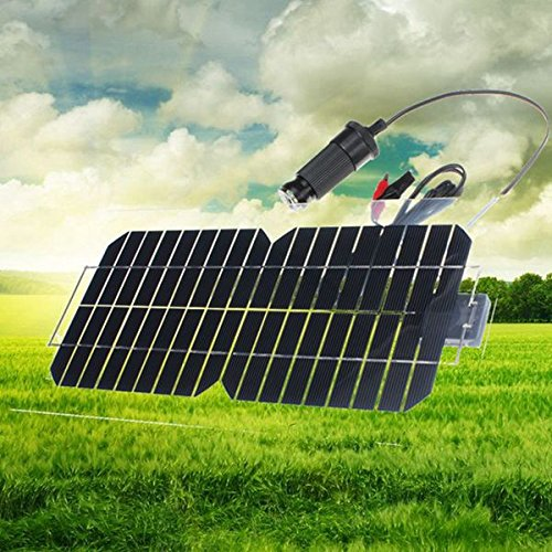 Preisvergleich Produktbild 18V 5.5W 31,5 x 16,5 x 0,15 cm Semi-Flexible Solar-Panel mit Kabel