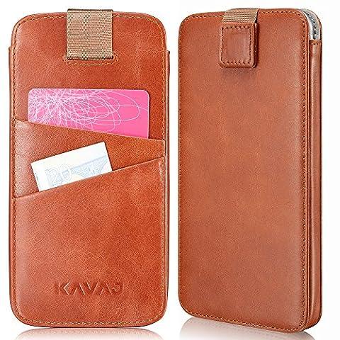 KAVAJ iPhone 8 iPhone 7 iPhone 6S iPhone 6 Tasche Leder