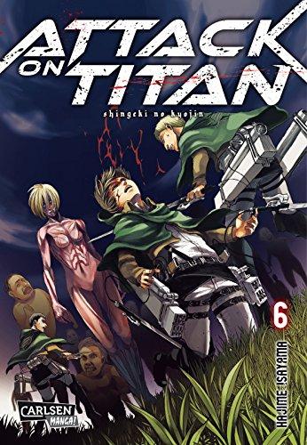 Buchseite und Rezensionen zu 'Attack on Titan, Band 6' von Hajime Isayama