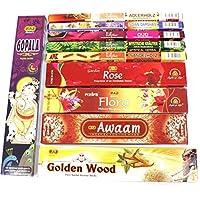 Premium Räucherstäbchen Set XXL, 10 Packungen aus Indien, Incense Sticks, Luxflair Großpackung mit unterschiedlichen... preisvergleich bei billige-tabletten.eu