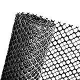 HaGa® Schneefanggitter Schutzzaun Schneefangzaun schwarz 1,2m Höhe (Meterware)