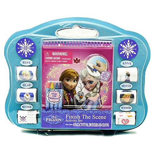 Tara Toys Tara Toy Frozen Finish The Sticker Scene Kit