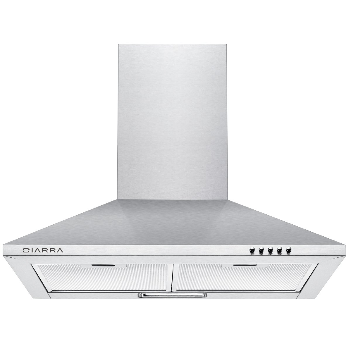 Cooker Hood Stainless Steel Recirculating Duct Kitchen