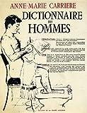 Dictionnaire des hommes 1966 / Carriere, Anne Marie / Réf: 23780