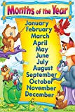 Poster | Months Name multicolor Printed educational wall Chart by 100yellow
