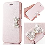 For iPhone 5S Case,L-FADNUT Bling Buckle Crystal Rhinestone - Best Reviews Guide