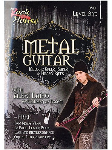 The Rock House: Metal Guitar - Level One (DVD). Für Gitarre (Metal Rock House Guitar)