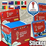 Panini - Confederations Cup Russia 2017 - 1 Display (250 Sticker)