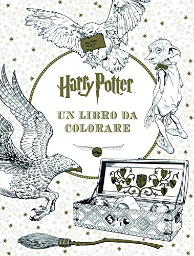 Harry Potter. Un libro da colorare. Ediz. illustrata