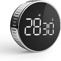 Timer da Cucina  Cronometro o Conto alla Rovescia Digitale Timer per Cottura Classe Studio Allenarsi Magnetico Countdown Contaminuti Egg Timer Kitchen Timer Display LCD  Knob Twist Design