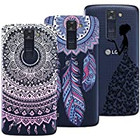 Yokata [3 Packs] LG K8 2016 Hülle Transparent Weiche Silikon Handytasche Handyhülle Schutzhülle TPU Handy Tasche... preisvergleich bei billige-tabletten.eu