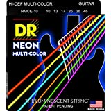 DR NEON Hi-Def MULTI-COLOR Medium · Cuerdas guitarra eléctr.