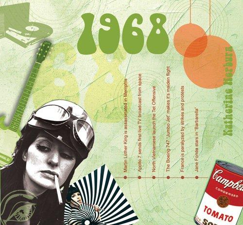 1968 The Classic Years - 20 Hit-Songs CD / Glückwunschkarte