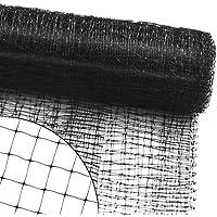 Filet de protection casa pura® filet anti oiseau, pigeon | volaille | jardin, arbre fruiter, balcon, bassin, etc. | maillage 13mm - 10m (L) x 4m (H)