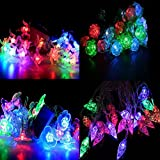 [Sponsored Products]A2Z, Set Of 4 LED Waterproof String Light (diamond, Rose, Flower And Swastik Shapes), 12M Fairy Lights For Diwali , Indoor, Outdoor, Yard, Garden, Path, Christmas, Landscape, Wedding, Party, Holiday Decoration (Multi-color)