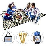 Picknickdecke wasserdicht sandfeste Faltbare Campingdecke für Outdoor-Camping