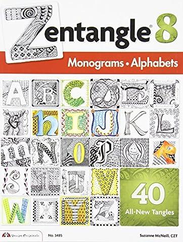 Zentangle 8: Monograms &