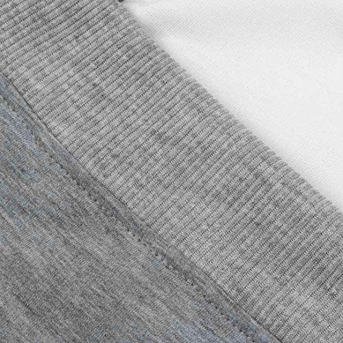 Hiroo Autunno Inverno 2017 Nuovo Da donna Maniche lunghe alla spalla Felpa con cappuccio abbigliamento elegant Felpa Lunga Pullover Donna Felpa con cappuccio Grigio