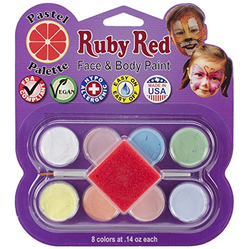 Ruby Rot Face Paint Kit - Facepaints Butterfly