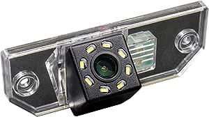 Hd 720p Nachtsicht Rueckfahrkamera Wasserdicht Farbkamera 170 Rückfahrkamera Kennzeichenleuchte Einparkhilfe Kamera Für Ford Mondeo Mk3 Mk4