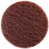 Merit Merit abrasotex Faserstoff Schleifmittel Polieren Disc, Rückseite aus Nylon, Powerlock Typ II Schnellwechsel, wasserdicht, 2
