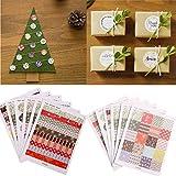 Bazaar 1 jeu d'imprimer des étiquettes floraux autocollants scrapbooking bricolage cadeau de décoration du papier...