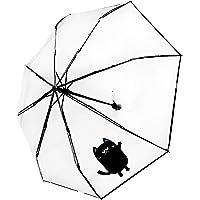 The Purple Tree Designer Transparent Umbrella Windproof (Pack of 1) Rain Umbrella, Classy Umbrella, Cute rain Umbrella…