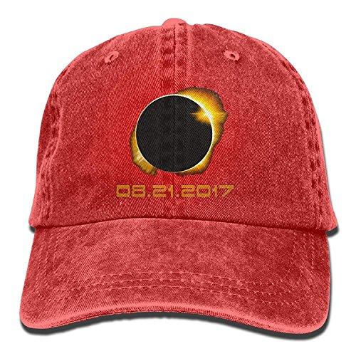 Preisvergleich Produktbild qianduoduoa Total Solar Eclipse 2017 Baseball Caps Denim Men Women Hats