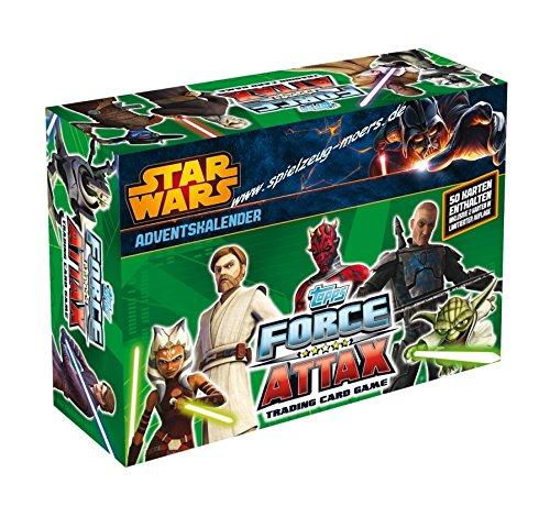 Force Attax Adventskalender - Star Wars the Clone -