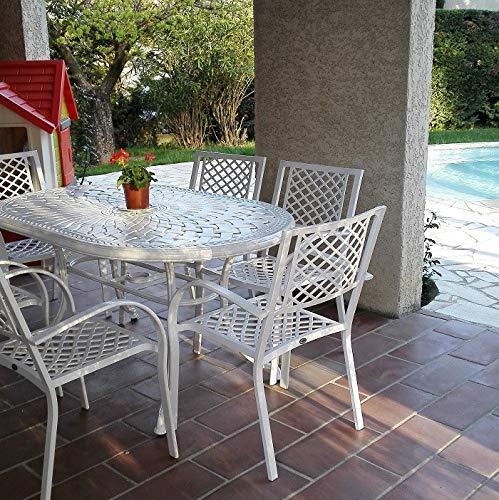 Jardin Salon aluminium chaises