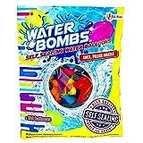 Toi-Toys Wasserbomben - Bunt Gemischtes Sortiment Wasser-Ballons - Der Sommerspaß