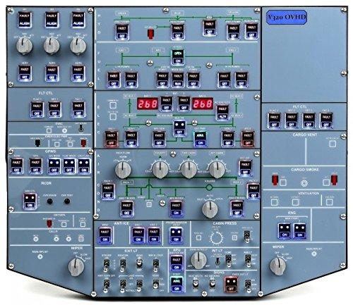 vrinsight-V320Overhead Panel für Flugsimulator -
