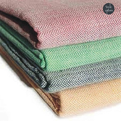 Style Urban Cool Combo of 100% Cotton Handloom Made Traditional Single bed Skin Friendly Summer Blanket / Khes pack of 2