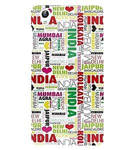 Fabcase India and states Designer Back Case Cover for Vivo Y51 :: VivoY51L