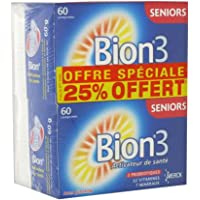 Bion 3 Senior Lot de 2 x 60 Comprimés