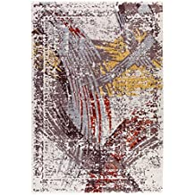 DolceMora Sehrazat Zara 9003 - Alfombra acrílico, 150 x 80, Color café