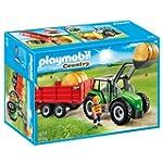 Playmobil 6130 Traktor mit Anh�nger