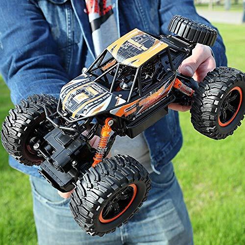 Kikioo 1:14 Giocattoli Freddi Mud Wrestler Monster Truck Giocattoli  Una velocità di 130 m/Minuto  Messa a Punto dello sterzo, paraurti Resistente agli Urti, Pneumatici in Gomma ad Alte Prestazio