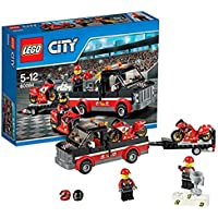 Lego City Great Vehicles Racing Bike Transporter, Multi Color